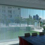 cortinas verticales con colocación